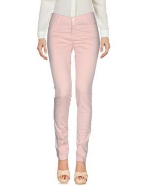 Повседневные брюки ANNIE P.. Цвет: розовый