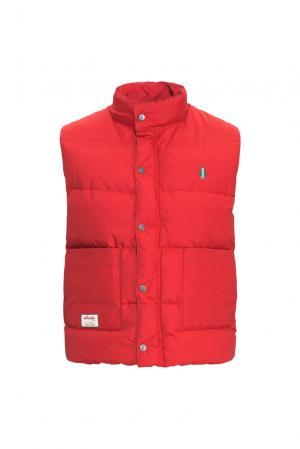 Пуховой жилет 152257 Woods Canada. Цвет: красный