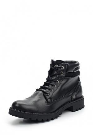 Ботинки Wrangler. Цвет: черный