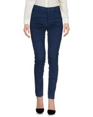 Повседневные брюки TSUMORI CHISATO. Цвет: синий