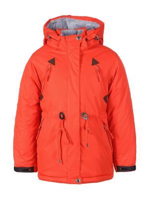 Куртка Arista. Цвет: коралловый