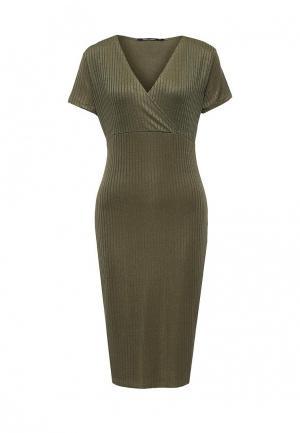 Платье Tom Farr. Цвет: зеленый