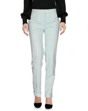 Повседневные брюки CARVEN. Цвет: светло-зеленый