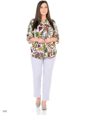 Блузка AMAZONE. Цвет: белый