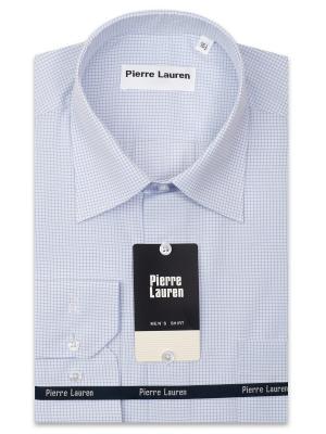 Рубашка Pierre Lauren. Цвет: светло-голубой