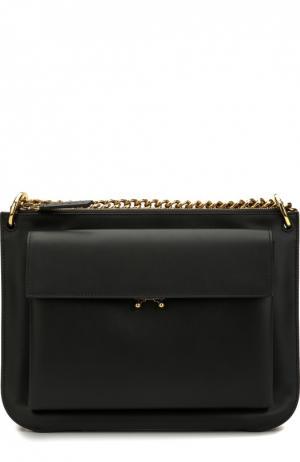 Двухцветная сумка Pocket Marni. Цвет: черный
