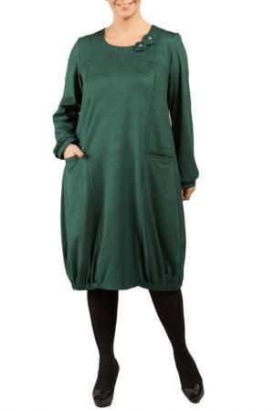 DRESS Zedd Plus. Цвет: dark green