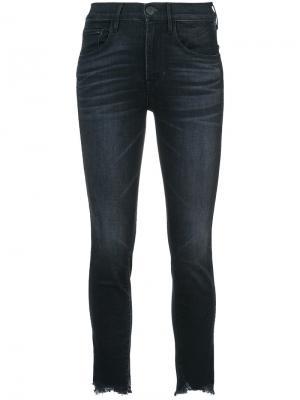 Укороченные джинсы 3X1. Цвет: чёрный