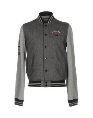 Куртка DESIGUAL. Цвет: серый