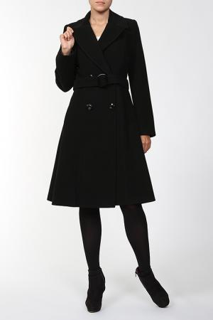 Пальто World Style. Цвет: черный