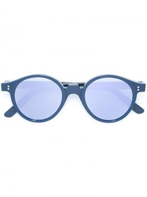 Солнцезащитные очки Oscar Kyme. Цвет: синий