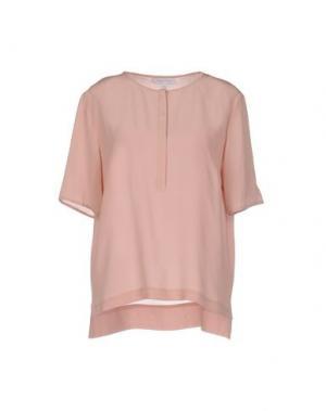 Блузка SECOND FEMALE. Цвет: розовый
