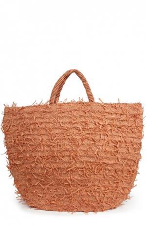 Пляжная сумка Sans-Arcidet. Цвет: розовый
