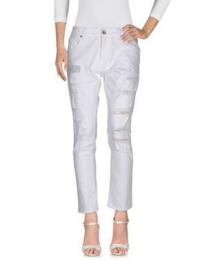 Джинсовые брюки JIJIL LE BLEU. Цвет: белый
