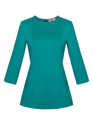 Блузка APRELLE. Цвет: бирюзовый