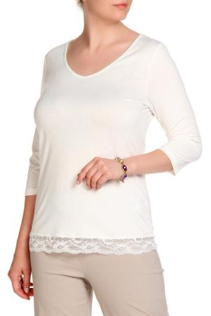 Блуза RITA PFEFFINGER. Цвет: светло-бежевый