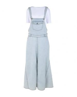 Длинное платье SOUVENIR. Цвет: лазурный