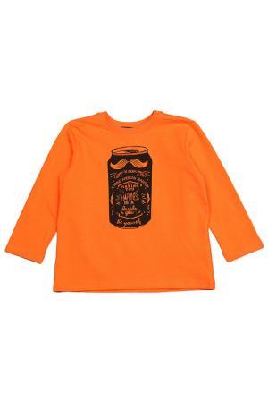 Футболка длинный рукав Wojcik. Цвет: оранжевый
