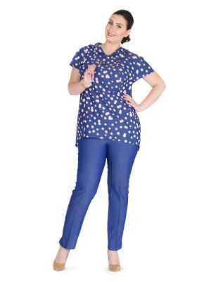 Брюки Darissa Fashion. Цвет: синий