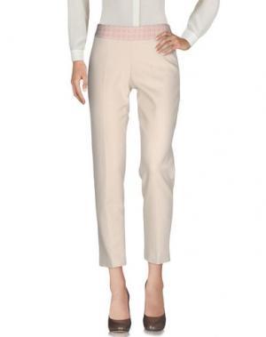 Повседневные брюки PUROTATTO. Цвет: бежевый