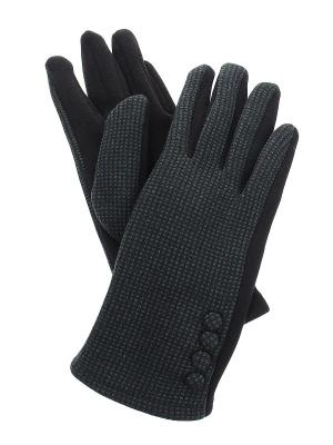 Перчатки Migura. Цвет: черный, зеленый