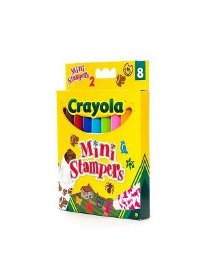 8 Мини-штамп домашние животные Crayola. Цвет: желтый