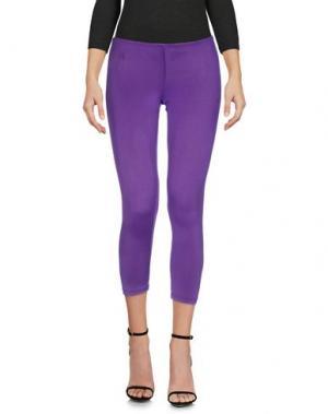 Легинсы CELYN B.. Цвет: фиолетовый