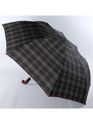 Зонт Trust. Цвет: черный, белый, коричневый