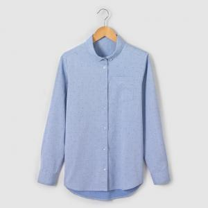 Рубашка в горошек 10-16 лет R essentiel. Цвет: синий