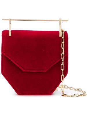 Мини сумка Amor Fati M2malletier. Цвет: красный
