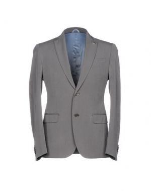 Пиджак BARBATI. Цвет: свинцово-серый