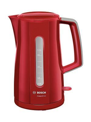 Чайник Bosch TWK3A014 1.7л. 2400Вт. Цвет: красный