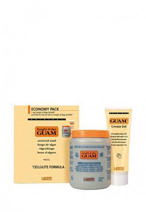 Набор для обертывания антицеллюлитный Guam. Цвет: желтый