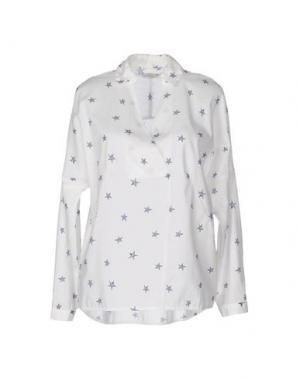 Блузка ..,MERCI. Цвет: белый