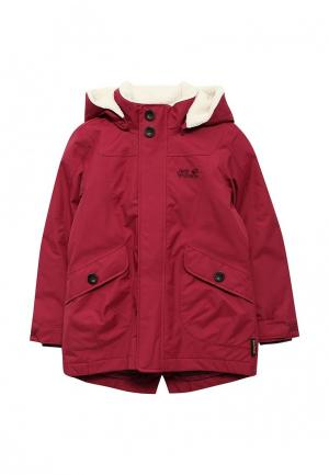 Куртка утепленная Jack Wolfskin. Цвет: бордовый