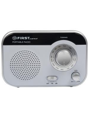 Радиоприемник FIRST 1903-2-WI , AM/FM, мощность 0.8 Вт, AC/DC, вых.наушники. Цвет: белый