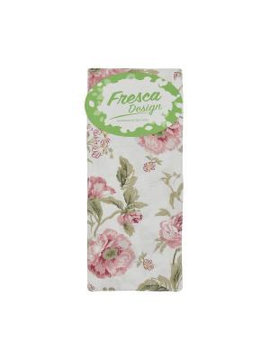 Чехол для столовых приборов english rose,6 шт. Fresca Design. Цвет: зеленый, белый, розовый