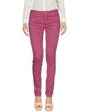 Повседневные брюки TELERIA ZED. Цвет: пурпурный