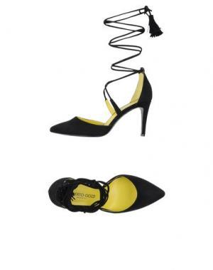 Туфли ALBERTO GOZZI. Цвет: черный