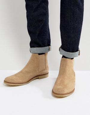WALK LONDON Замшевые ботинки челси Hornchurch. Цвет: светло-бежевый