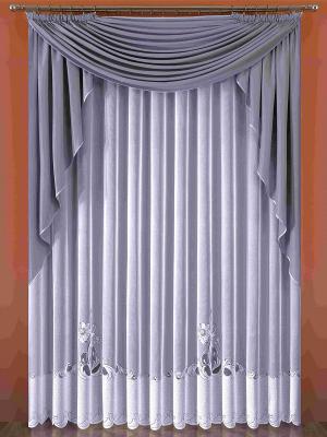 Комплект штор Wisan. Цвет: серый