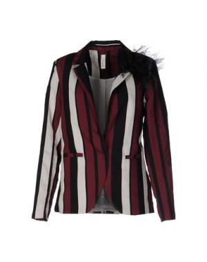 Пиджак SOUVENIR. Цвет: красно-коричневый