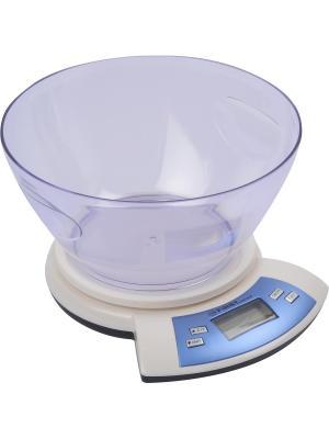 Весы кухонные FIRST. Цвет: белый