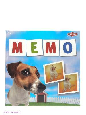 Настольная игра Мемо Животные 2 Tactic Games. Цвет: голубой