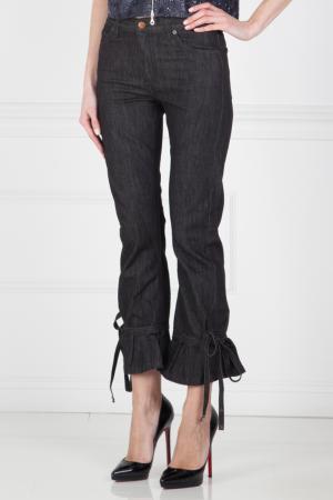 Хлопковые джинсы Marc Jacobs. Цвет: черный