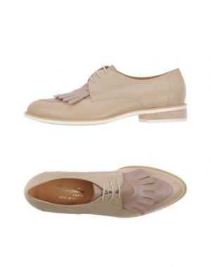 Обувь на шнурках F.LLI BRUGLIA. Цвет: бежевый