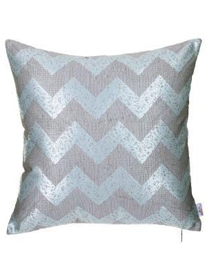 Чехол для декоративной подушки Exclusive mint Apolena. Цвет: бирюзовый