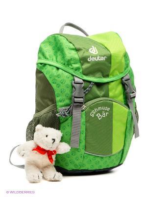 Рюкзак Deuter. Цвет: зеленый, серый