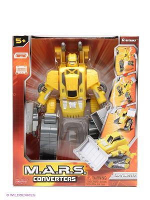 Робот трансформер Hap-P-Kid. Цвет: желтый, серый