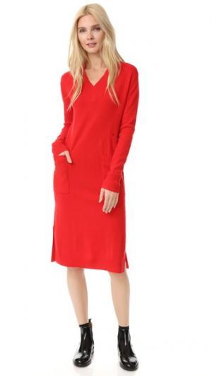 Платье-свитер Edition10. Цвет: красный